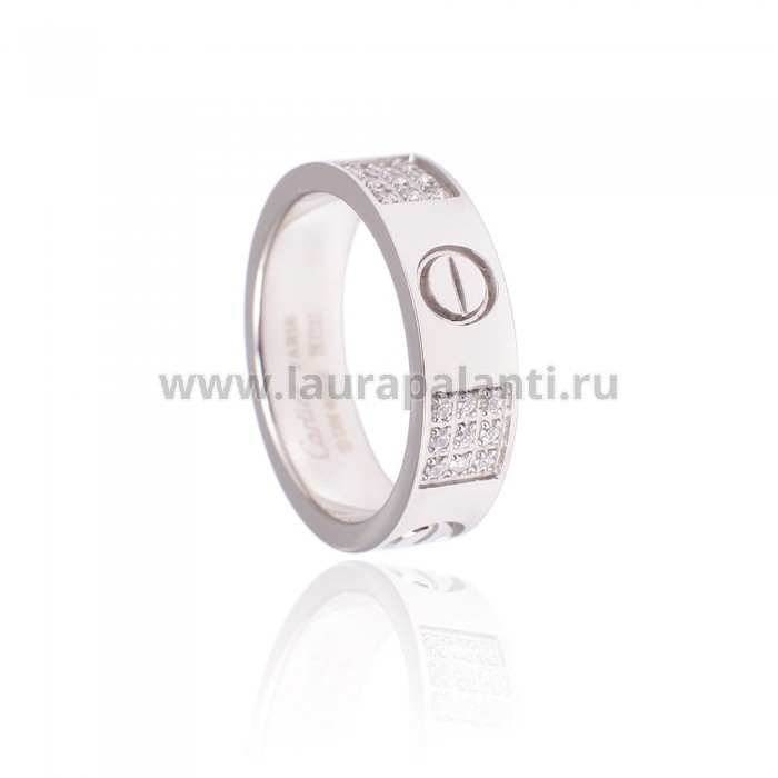 "Кольцо Cartier ""Love Wedding Diamonds Band"""