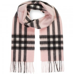 "Кашемировый шарф Burberry ""Cashmere Light Pink"""