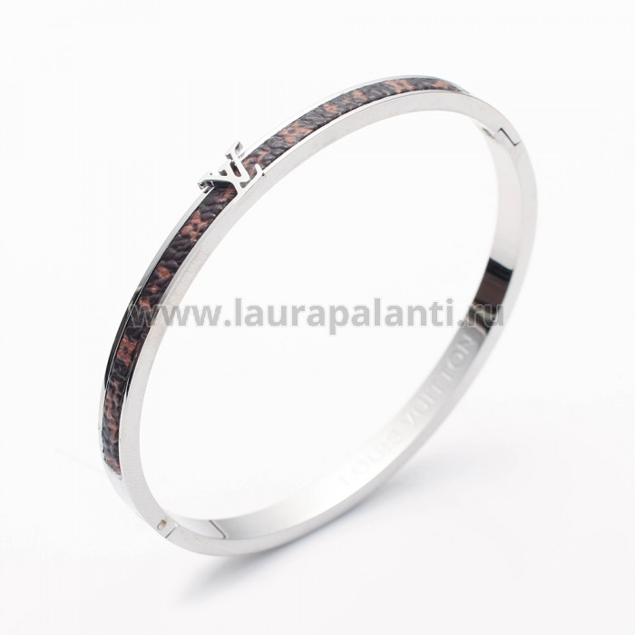 "Браслет Louis Vuitton ""Nanogram bracelet"" white gold"