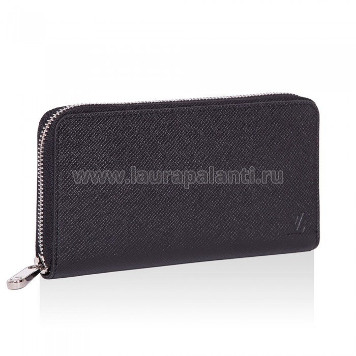 "Бумажник Louis Vuitton ""Zippy Taiga Wallet"" чёрный"