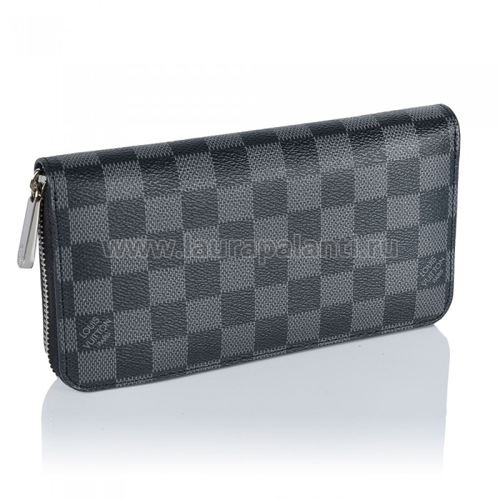"Портмоне Louis Vuitton ""Damier Graphite Zippy Wallet"", черное"